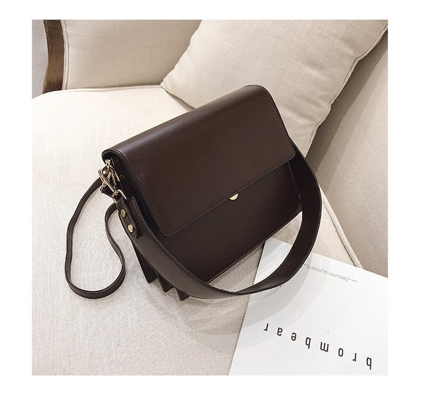 Wide Strap Ella Bag