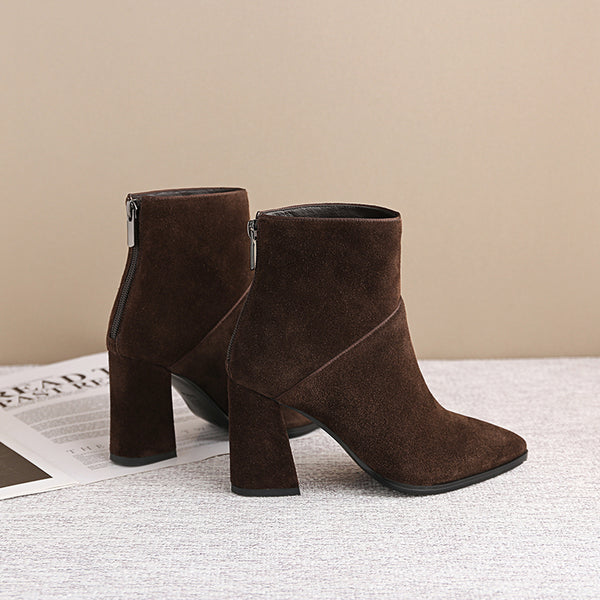 Ankle Boots Genuine Leather