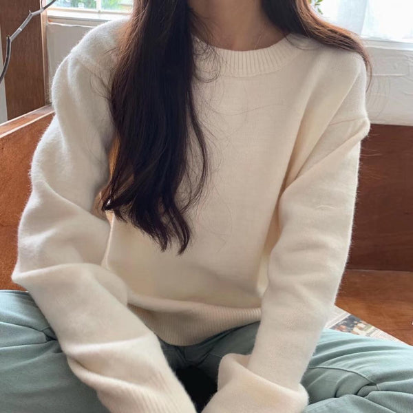 Softly Structured Knit Sweater