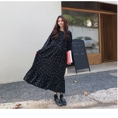 Allisa Polka Dot Dress