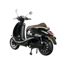 Load image into Gallery viewer, Zoopa Nova Black Electric Moped 3000W