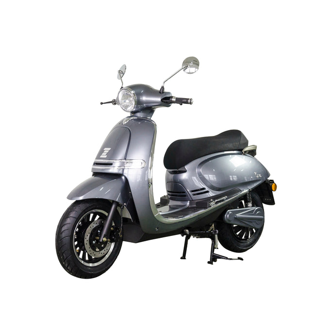Zoopa Nova Gunmetal Electric Moped 3000W