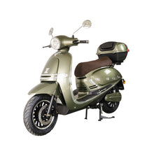 Load image into Gallery viewer, Zoopa Nova Khaki Electric Moped 3000W