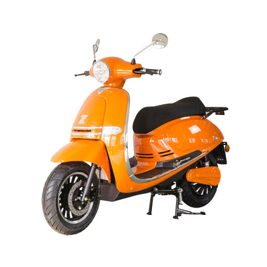 Zoopa Nova Tangerine Electric Moped 3000W - New stock arriving October