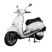 Load image into Gallery viewer, Zoopa Nova White Electric Moped 3000W