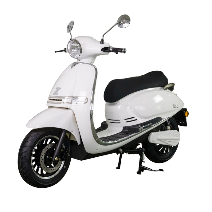 Zoopa Nova White Electric Moped 3000W