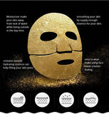 Gold Face Mask