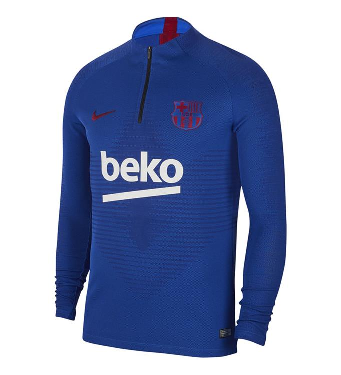Barcelona Nike Strike Vaporknit Drill Top 2019-2020 (Blue)