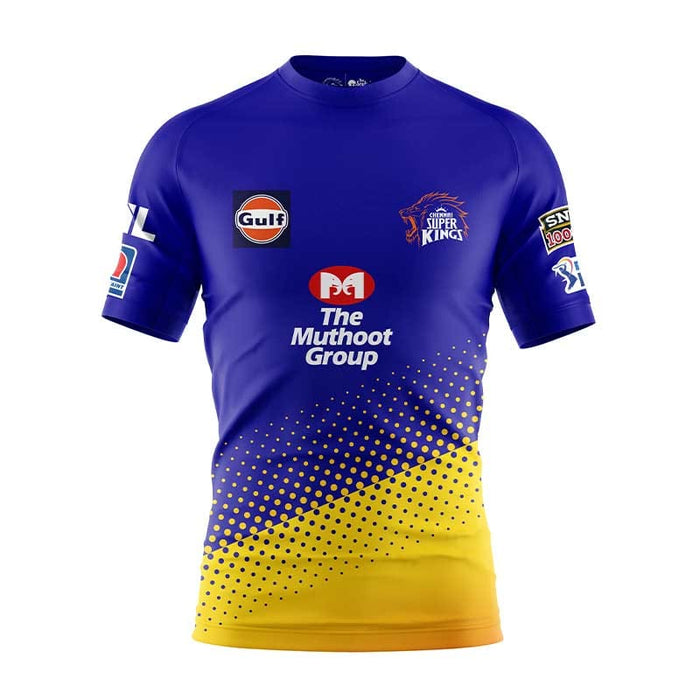 CSK Fan Training Jersey