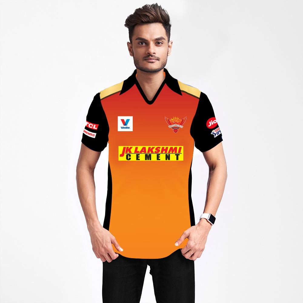 Hyderabad Jersey IPL 2020 With Name & No.