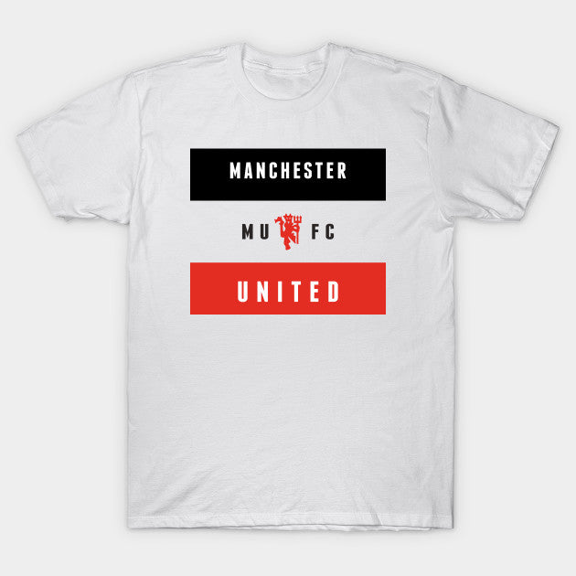 Manchester United White Fan T Shirt