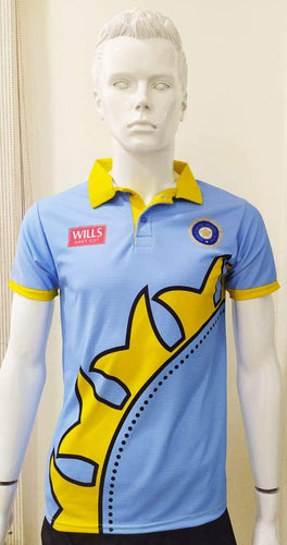 Indian Cricket World cup Jersey 1999 Without Name & No.