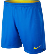 Load image into Gallery viewer, Brasil Home Shorts 2018 - Blue