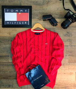 Tommy Hilfiger Red Sweatshirts