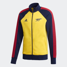 Load image into Gallery viewer, 2020-21 Arsenal Jacket - Yellow-Navy-Red