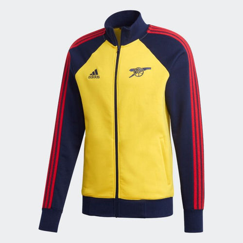 Adidas 2020-21 Arsenal Jacket - Yellow-Navy-Red