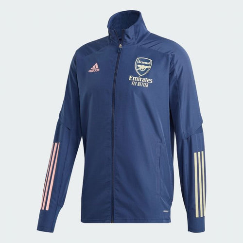 Adidas 2020-21 Arsenal Presentation Jacket - Indigo