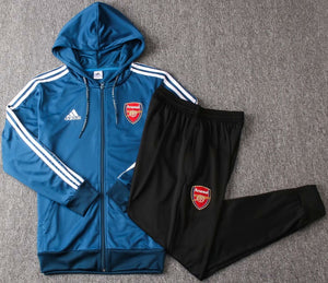 Arsenal 2019-20 Dark Blue Hoodie Track Suit