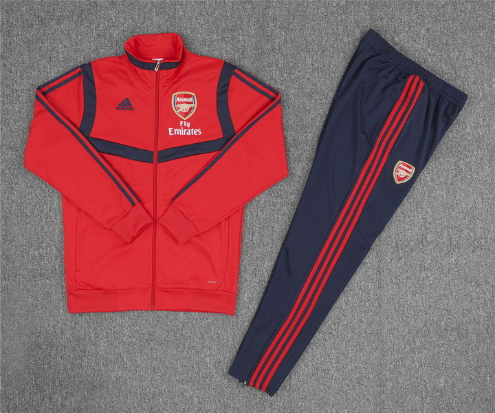 Arsenal 2019-20 Red High Neck Presentation Track Suit