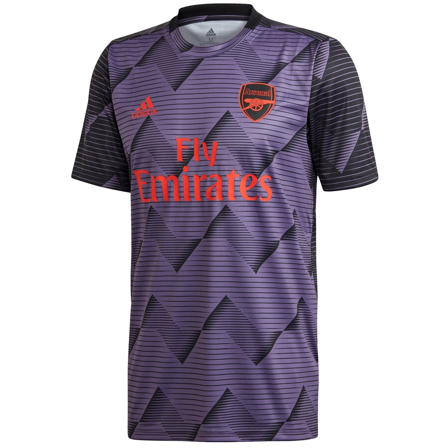 Arsenal adidas Pre-Match Top - Scarlet