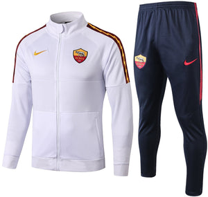 As Roma 2019-20 White Track Suit