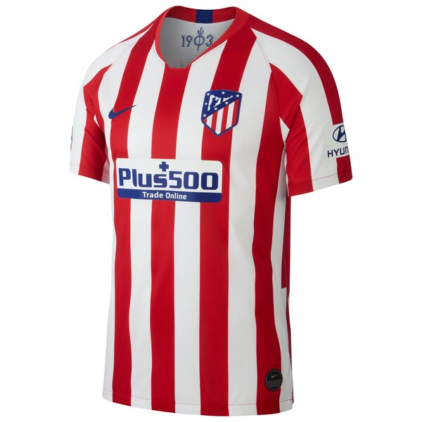 Atletico de Madrid Home 2019/20 Without Name & No.