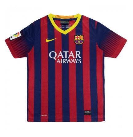 Barcelona 2013-14 Retro Home Shirt