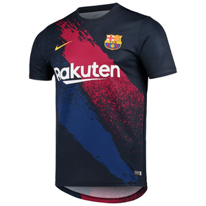 Barcelona 2019/20 Dry Performance Pre-Match Top - Navy