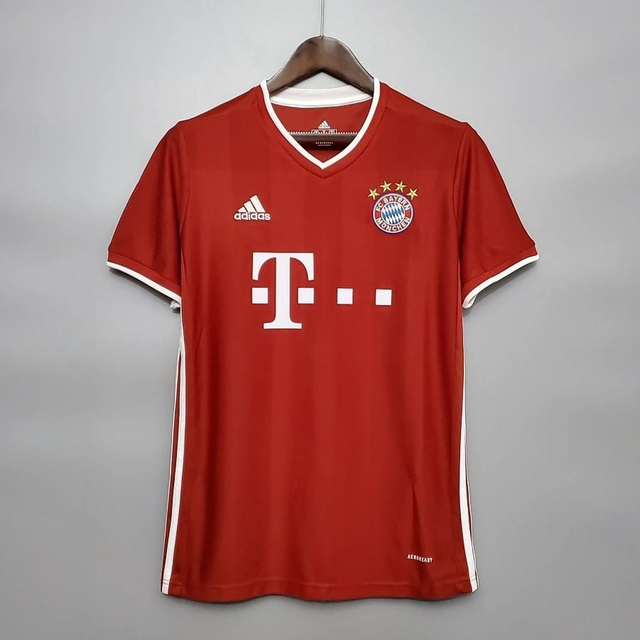 Bayern Munich Home 2020/21 With Name & No.