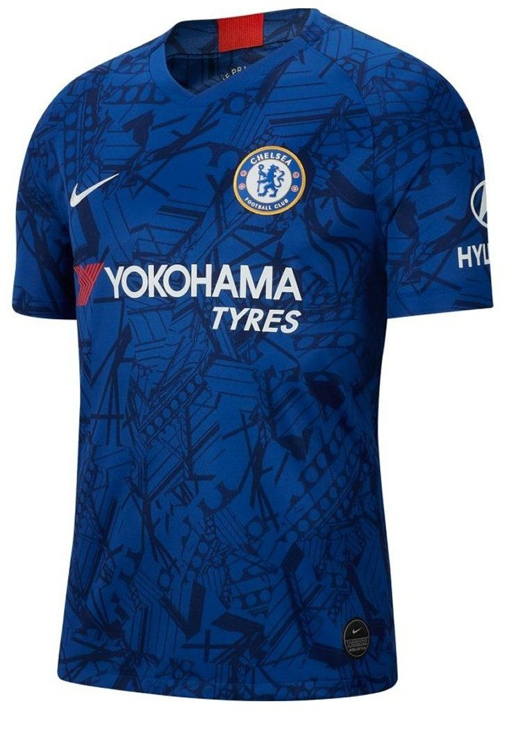 Chelsea Home Jersey 2019/20 With Name & No.