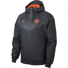 Load image into Gallery viewer, Chelsea Windrunner CL Jacket - Black-Orange
