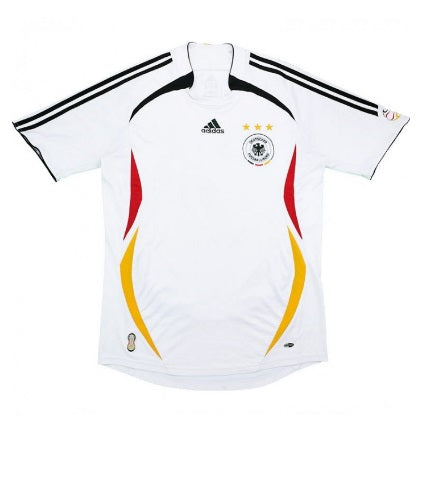 GERMANY 2005-07 RETRO HOME FOOTBALL JERSEY