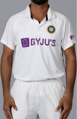 India Test Cricket Jersey 2020/21 With Name & No.
