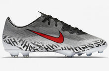 Load image into Gallery viewer, JR Vapor 12 Elite Neymar FG - White-Black-Red