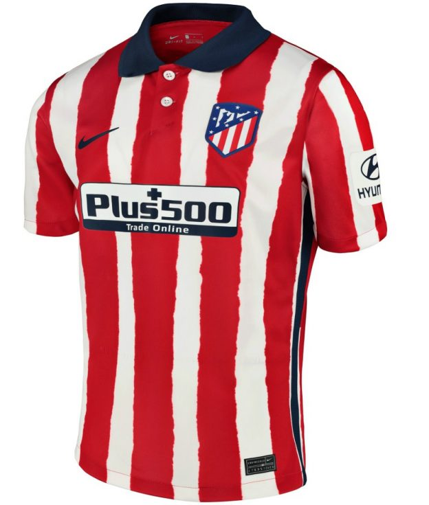 Atletico Madrid Home 2020/21 Without Name & No.