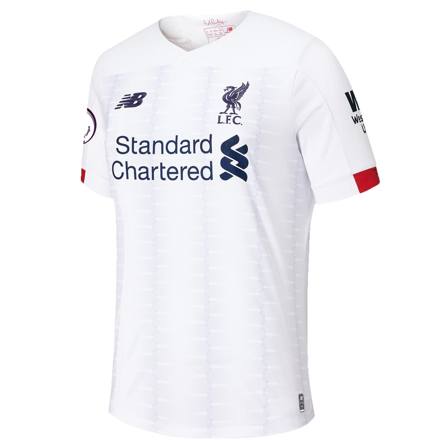 Liverpool Away 2019/20 Without Name & No.