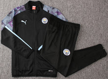 Load image into Gallery viewer, Man City 2019-20 Black/Purple Training Kit