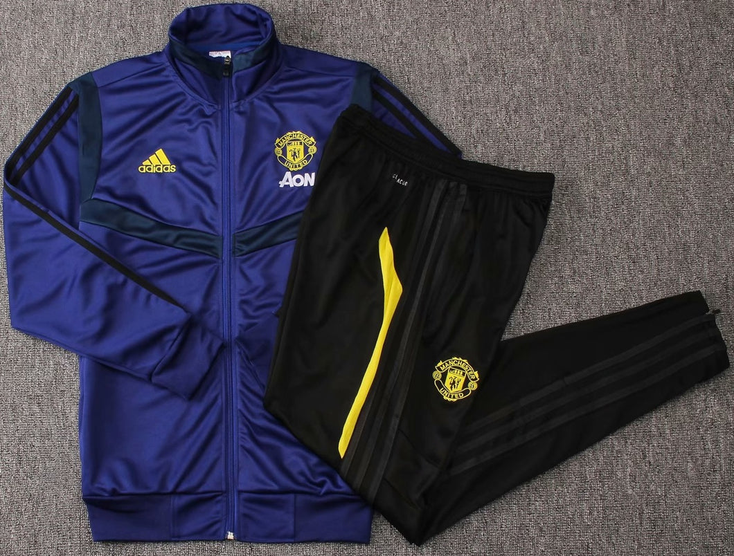 Man Utd 2019-20 Blue Training Kit