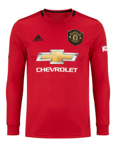 Manchester United Home Full Sleeves Jersey With Shorts