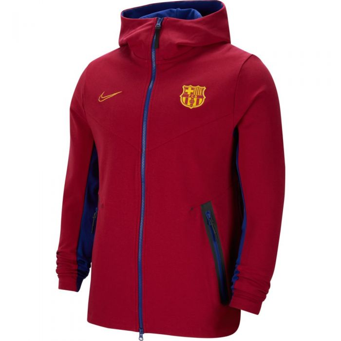 FC Barcelona 2020-21 Tech Pack Jacket - Red