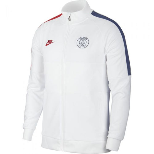 PSG 2019-20 Jacket - White-Blue-Red