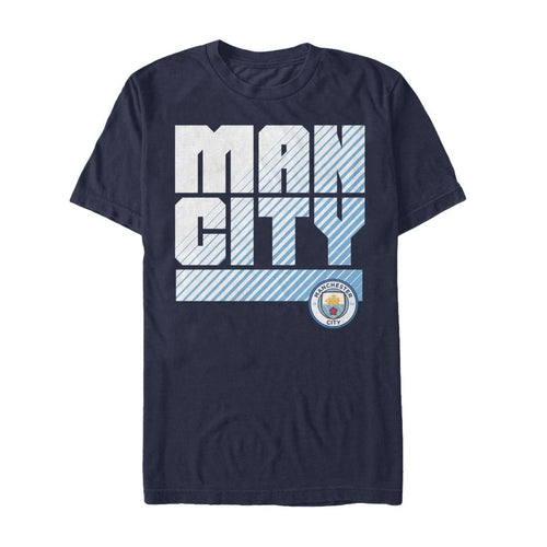 MCFC Navy Blue Fan T Shirt