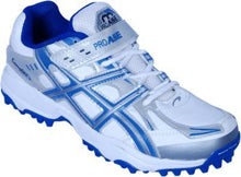 Load image into Gallery viewer, PRO ASE Men's Blue Synthetic Cricket Shoes