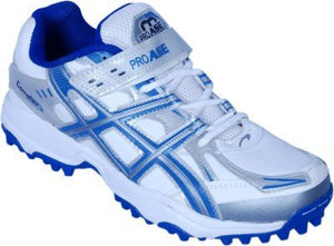 PRO ASE Men's Blue Synthetic Cricket Shoes