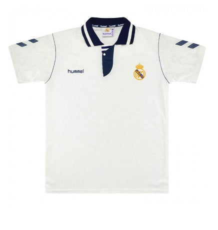 Real Madrid 1992-93 Retro Home Shirt