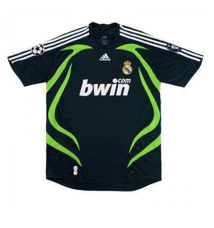 Real Madrid 2007-08 Retro CL Third Shirt