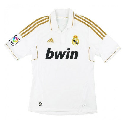 Real Madrid 2011-12 Retro Home Shirt