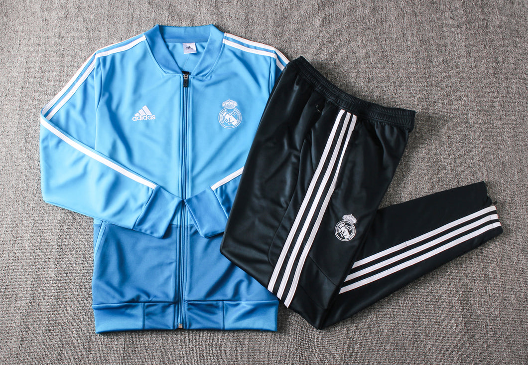 Real Madrid 2019-20 Blue Track Suit