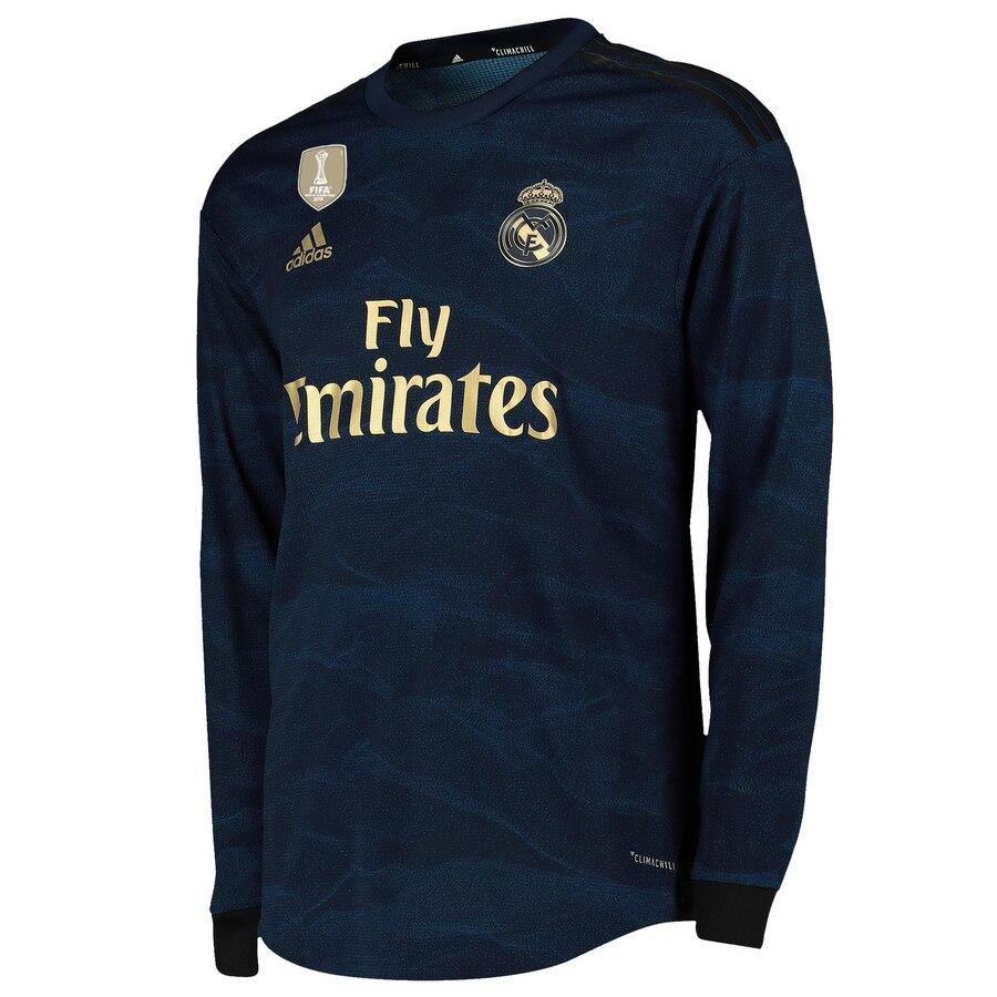 Real Madrid Away Full Sleeves Jersey With Shorts