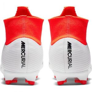 Superfly 6 Pro FG - White-Crimson